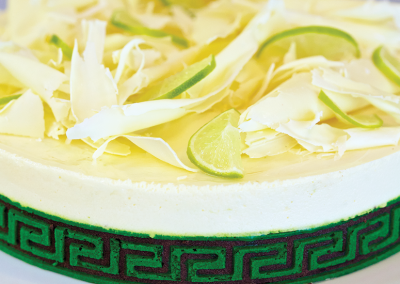 Lime/Lakrids kage